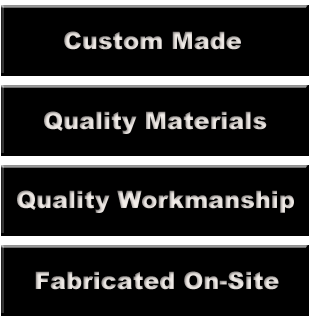 List of what Hunt Fabrication can do for you.